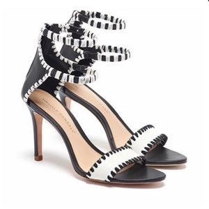 Loeffler Randall Ceci ankle strap sandals